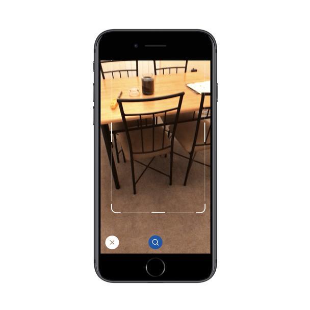 Сфотографируйте объект с помощью приложения IKEA и найдите похожий товар в каталоге