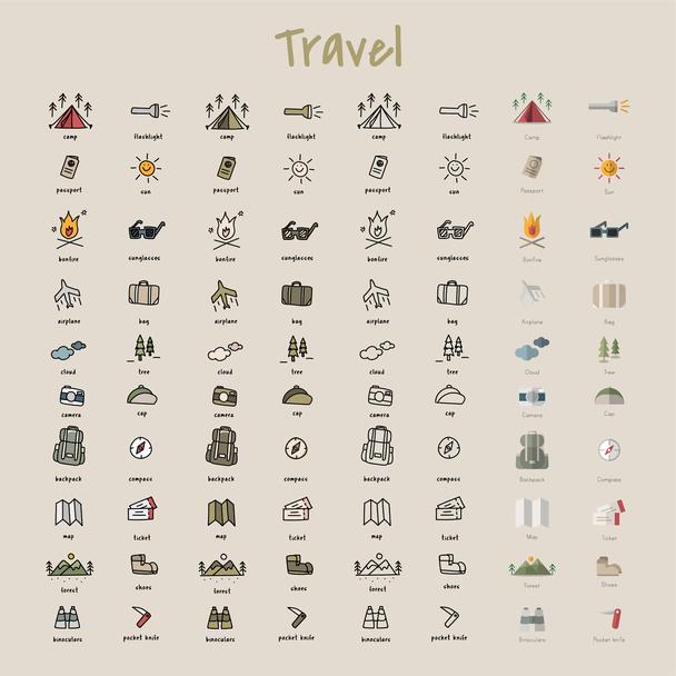 Travel-иконки