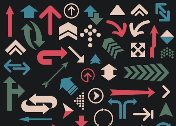 Иконки со стрелками