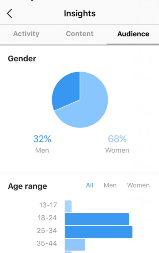 Изучите демографические характеристики своих подписчиков в Instagram