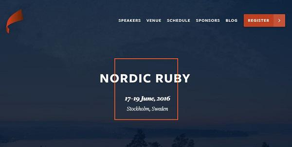 Nordic Ruby
