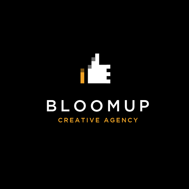 Bloom Up Creative Agency logo