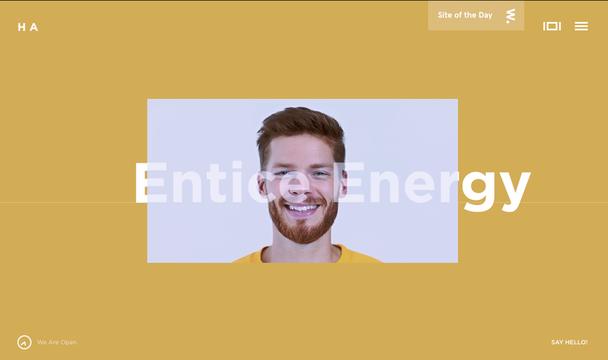HA Homepage screenshot