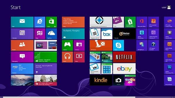 Плоский дизайн Windows 8 был создан для упрощения перевода ОС на планшеты