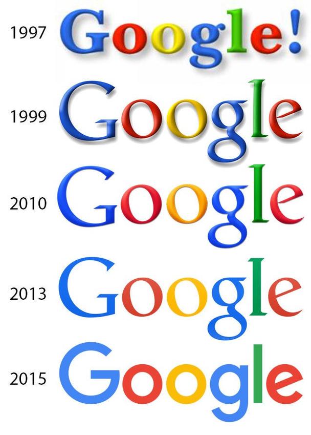 На заре тысячелетия даже Google использовал этот знак в своем логотипе