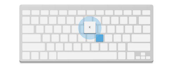Перейти к следующему (более новому) письму (k)