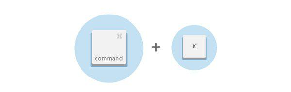Вставить ссылку (Ctrl + k / Command + k)