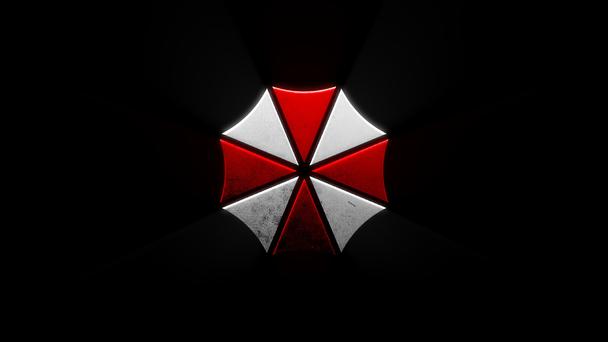 Радиальный логотип от Umbrella Corporation