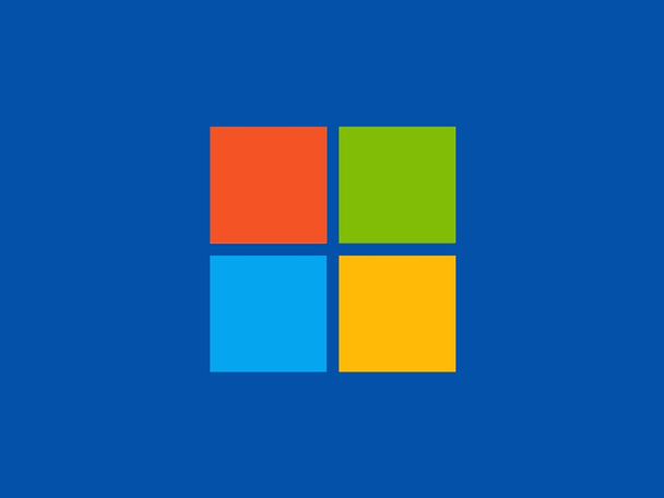 Мозаичный логотип от Windows