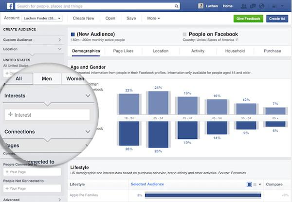 Facebook's Audience Insights