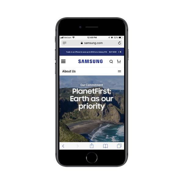 Миссия Samsung — сделать окружающую среду приоритетом