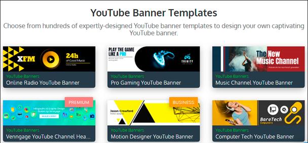 баннер YouTube