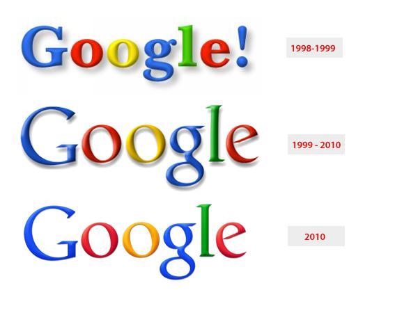 6 мая 2010 года Google обновил свой логотип, изменив цвет буквы «o» с желтого на оранжевый и убрав тень