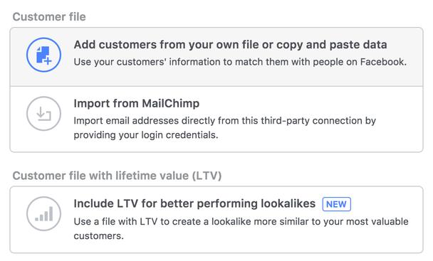 Добавляйте клиентов/подписчиков из CSV-файла или списка данных