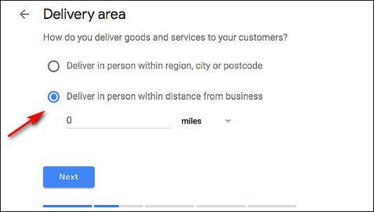 Создайте учетную запись в сервисе Google My Business