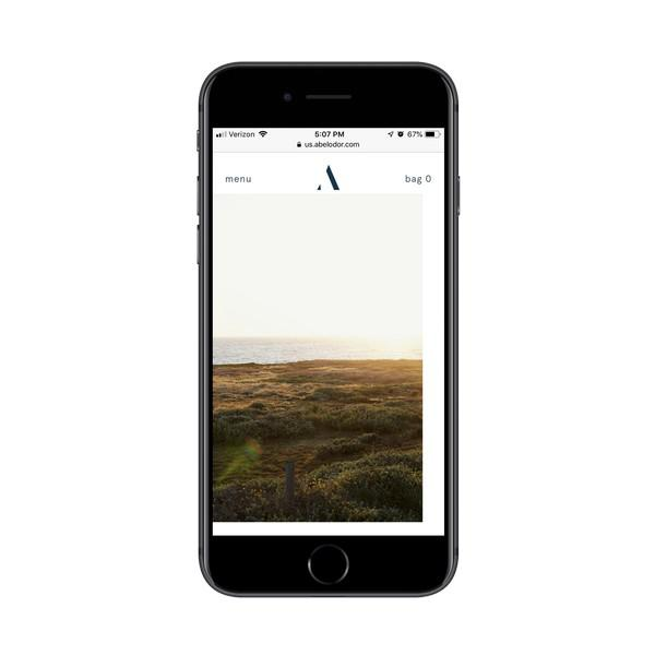 Abel применяет цветовой фильтр к изображениям на каждой странице продукта