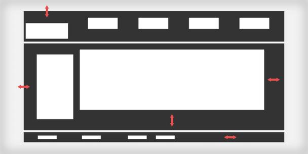 Разногласие в пространстве, показанное в черно-белой гамме