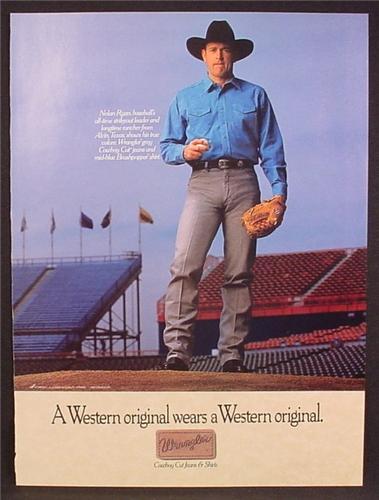 Реклама джинс Wrangler