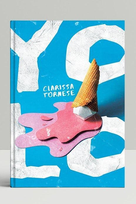 Многослойный дизайн книжной обложки в виде коллажа
