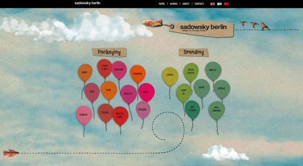 Дизайн сайта в стиле скрапбукинга