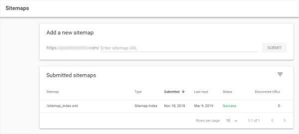 с помощью консоли Google вы можете легко отправить карту сайта на проверку