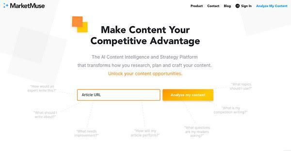 MarketMuse: «Сделай контент своим конкурентным преимуществом»