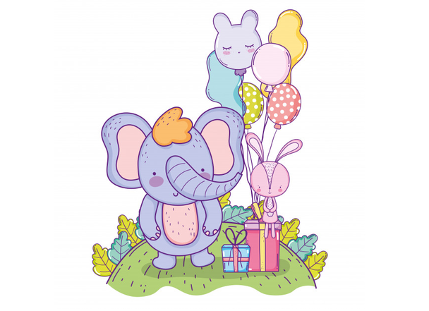 Иллюстрация к статье: Раздача слонов, или Как провести гивэвей в соцсетях?