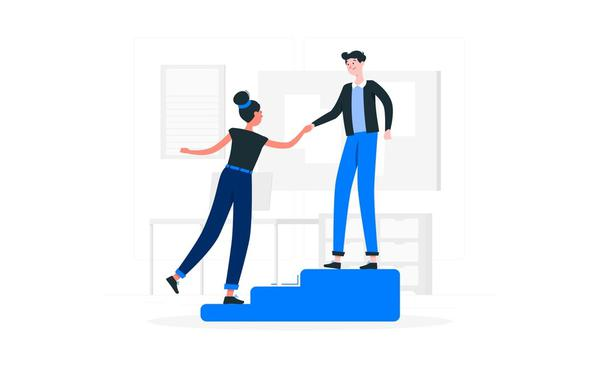 Иллюстрация к статье: Как создать онбординг-процесс, ориентированный на клиента