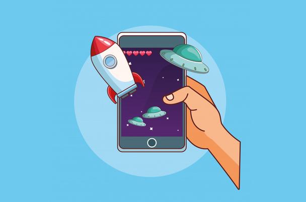 Иллюстрация к статье: Что такое маркетинг мобильных игр и с чем его едят?