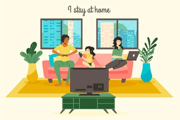 Иллюстрация к статье: #stayhome, или 10 лайфхаков, как работать из дома и оставаться продуктивным