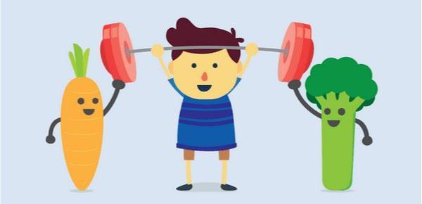 Ешьте здоровую пищу и занимайтесь спортом