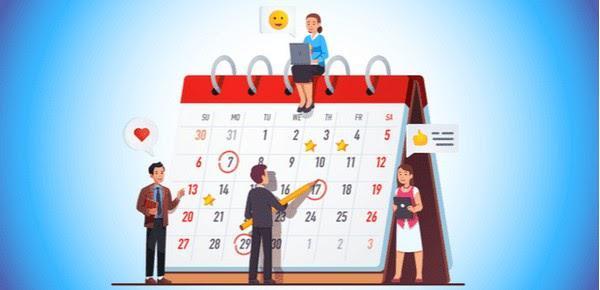 Ознакомьте своих коллег и клиентов со своим графиком работы