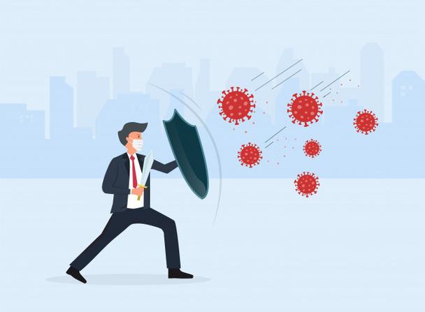 Иллюстрация к статье: 4 совета по поддержанию продаж во время пандемии