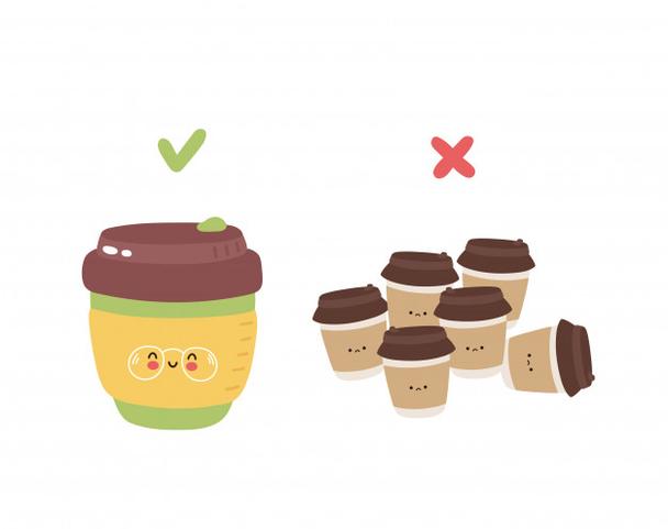 Иллюстрация к статье: История KeepCup: как были проданы 10 000 000 многоразовых кофейных стаканов