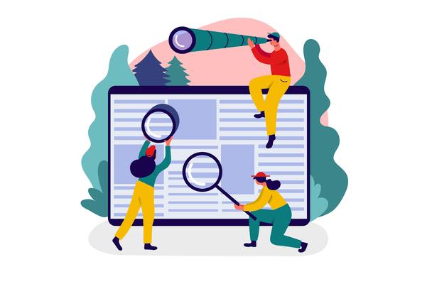 Иллюстрация к статье: Как зуммеры ищут в интернете: на заметку маркетологам