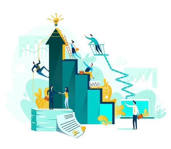 Иллюстрация к статье: 10 KPI-метрик для надежной воронки продаж