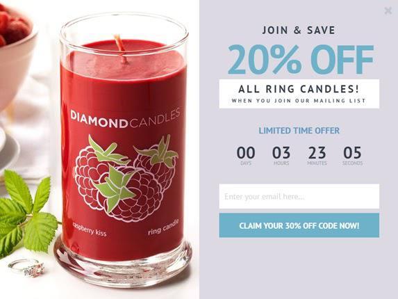 Присоединяйся и получи скидку 20% на все цилиндрические свечи!