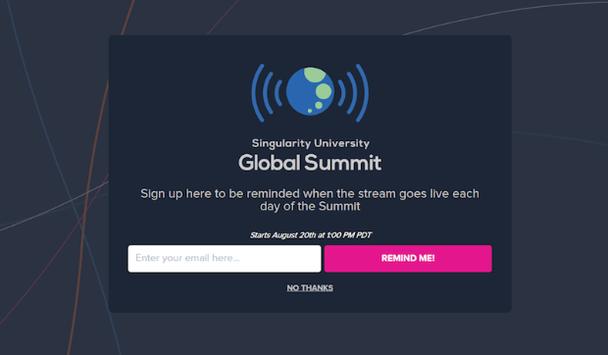Глобальный саммит. Подпишитесь, и мы напомним вам, когда будет запущена онлайн-трансляция. CTA-кнопка «Напомните мне»