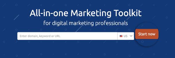 Маркетинговый инструмент «Все в одном» для профессионалов интернет маркетинга. CTA-кнопка «Начать сейчас»