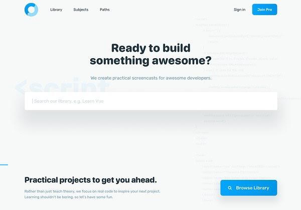 Этот макет сайта привлекает внимание эффективным пустым пространством