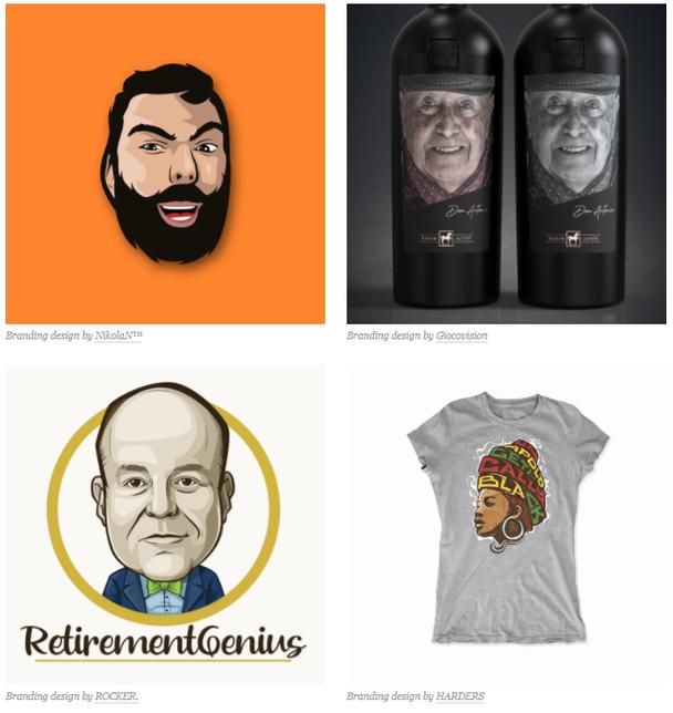Пример «гуманизации» брендов через изображения лиц