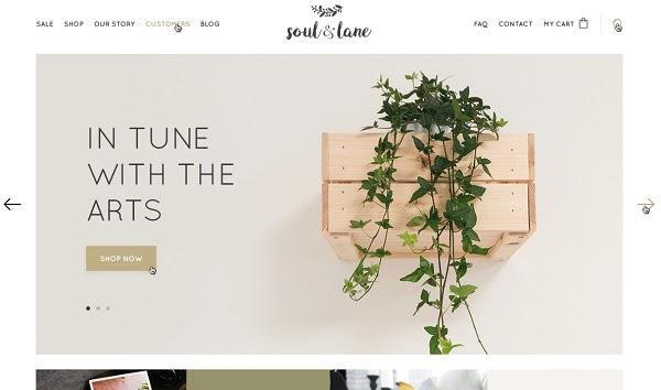 Дизайн другого ecommerce-сайта