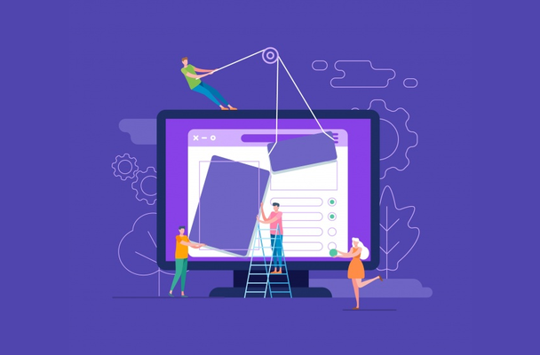 Иллюстрация к статье: Почему так много сайтов выглядят одинаково, или Как сделать уникальный дизайн?