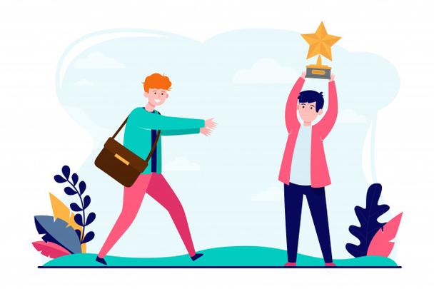 Иллюстрация к статье: Конкурсы в соцсетях: как организовать, привлечь лидов и избежать типичных ошибок