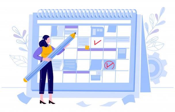 Иллюстрация к статье: Как создать контент-календарь на 2021 год?