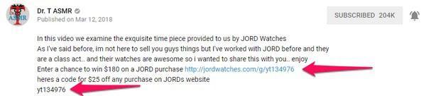 В этом видео будет обзор часов производства JORD. Как я уже говорил раньше, я снял этот ролик не для того, чтобы вам что-то продать. Раньше я уже сотрудничал с JORD и со всей ответственностью могу сказать, что их часы — потрясающие. Я хочу показать вам, насколько это соответствует истине, и подарить возможность приобрести их с существенной скидкой. Пройдя по этой ссылке, ты можешь выиграть $180 на покупку часов в JORD. А здесь код на скидку в $25 на любую покупку в их магазине