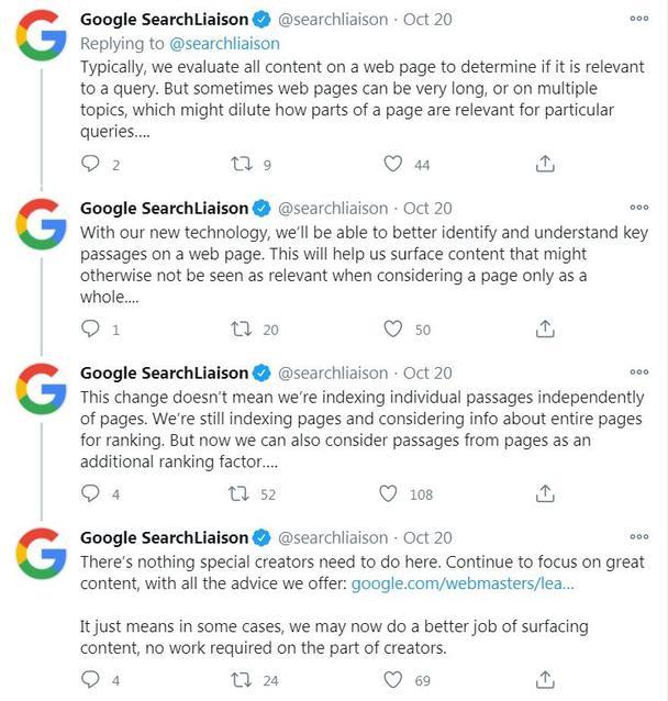 Google будет отдавать приоритет некоторым менее влиятельным страницам
