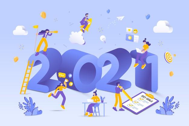 Иллюстрация к статье: 9 трендов веб-дизайна лендингов и сайтов в 2021 году