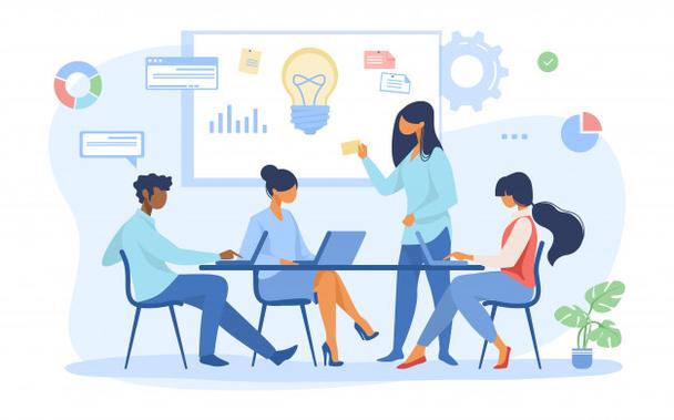 Иллюстрация к статье: Как коммуникация в компании влияет на конверсию?