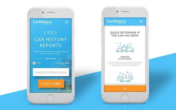 Этот сайт использует четкую типографскую иерархию, большие кнопки и поля форм.